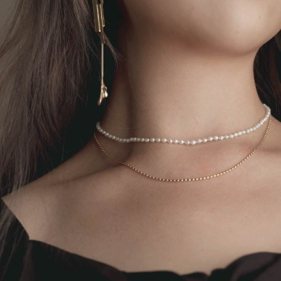 19FW. moment in seoul. necklace04 set
