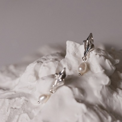 20FW. fragment of waves. earring 04